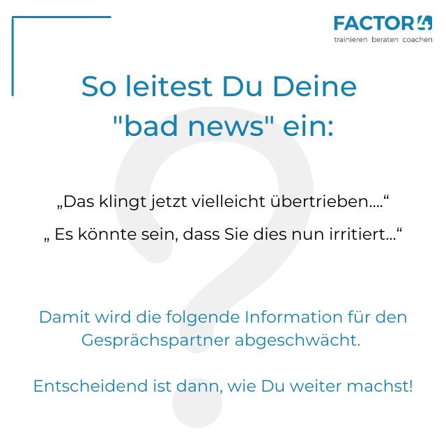 Infokarte bad news